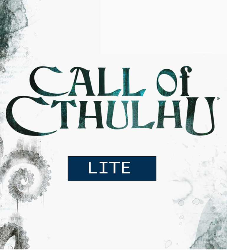 CALL OF CTHULHU LITE